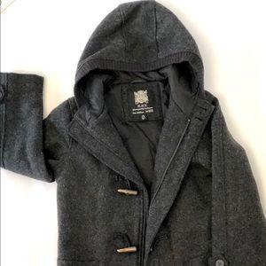 Children's Place Toggle Coat Boys Sz 7/8 Black